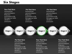 Ppt Linear Implementation Of 6 Power Point Stage Involved Process PowerPoint Templates