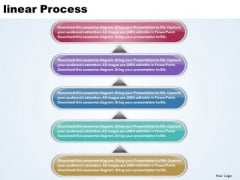 Ppt Linear Process 5 Power Point Stage PowerPoint Templates