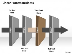 Ppt Linear Process Business PowerPoint Theme Stages Diagram Templates