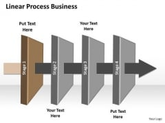 Ppt Linear Process New Business PowerPoint Presentation Relationship Chart Templates