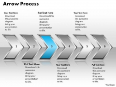 Ppt Linear Set Of Arrow Process 6 State Diagram PowerPoint Templates
