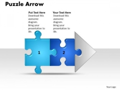 Ppt Linear Work Flow Chart PowerPoint 2 Stages Style1 Templates