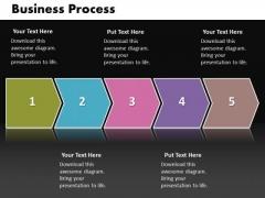 Ppt Linear Work Flow Chart PowerPoint Business Theme Process Diagram Templates