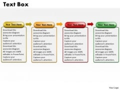 Ppt Liner Flow 4 State PowerPoint Presentation Diagram Templates