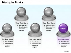 Ppt Multiple Tasks Diagram 5 Stages PowerPoint Templates 2003 0812