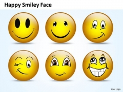 Ppt Naughty Emoticon Showing His Tongue Business Management PowerPoint Business Templates