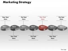 Ppt Orange Circlular Arrow Marketing Strategy PowerPoint Templates