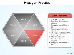 Ppt Orange Factor Regular Hexagon Diagram Editable PowerPoint Templates
