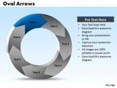 Ppt Oval Arrows Download PowerPoint Layouts 7 Points Templates