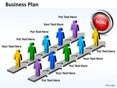 Ppt Parallel PowerPoint Slide Numbers To Business Plan Business Templates