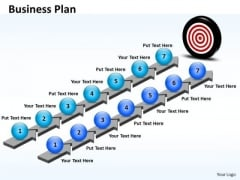 Ppt Parallel Steps Business Plan Format Communication Skills PowerPoint Business Templates