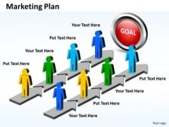 Ppt Power Point Stage For Marketing Plan Operations Management PowerPoint Business Templates