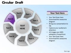 Ppt PowerPoint Presentation Circular Forging Process Slides Draft Templates