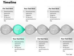 Ppt PowerPoint Slide Numbers A Procedure Or Timeline 2007 Templates