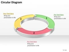 Ppt Process Diagram PowerPoint Free With 3 Practice The Macro Steps Templates
