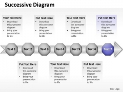 Ppt Purple Stage New Business PowerPoint Presentation Data Flow Diagram Templates