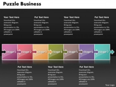 Ppt Puzzle New Business PowerPoint Presentation Process Flow Chart Templates