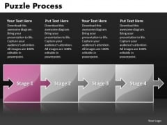 Ppt Puzzle Process Horizontal Scientific Method Steps PowerPoint Presentation Templates