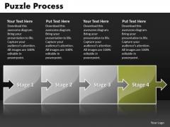 Ppt Puzzle Process PowerPoint Presentation Linear Flow Templates