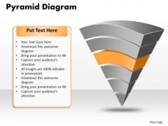 Ppt Pyramid Diagram Model Templates PowerPoint Free Download Trial