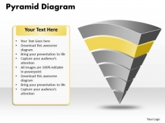 Ppt Pyramid Diagram Pattern Certificate Templates PowerPoint