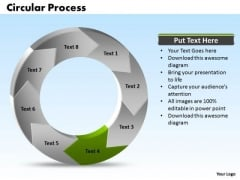 Ppt Recycle Nursing Process PowerPoint Presentation Circular Manner Stage 4 Templates