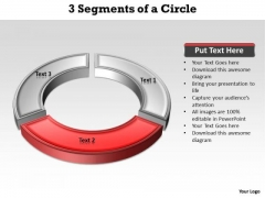 Ppt Red Download PowerPoint Layouts Arc Describing Second Method Templates