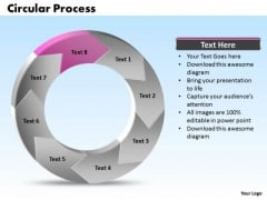 Ppt Reduce Reuse Recycle PowerPoint For Kids Process Circular Manner Stage 8 Templates