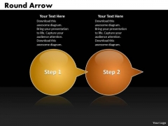 Ppt Round Arrow Speech Bubbles 2 Power Point Stage PowerPoint Templates