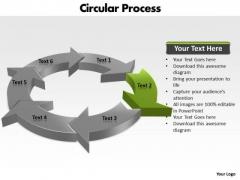 Ppt Segments Of Circular Motion PowerPoint Forging Process Slides Templates