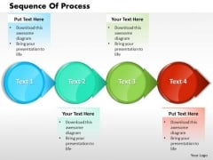 Ppt Sequence Of A Process In Step By Format PowerPoint Templates