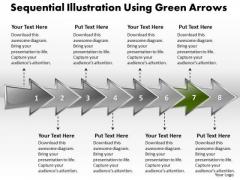 Ppt Sequential Description Using Arrows PowerPoint Templates
