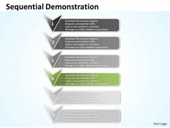 Ppt Sequential Representation Using Arrows PowerPoint Templates
