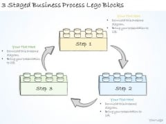 Ppt Slide 3 Staged Business Process Lego Blocks Consulting Firms