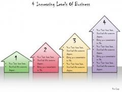Ppt Slide 4 Increasing Levels Of Business Plan