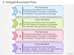 Ppt Slide 4 Staged Business Plan