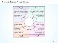 Ppt Slide 4 Staged Business Process Diagram Marketing Plan