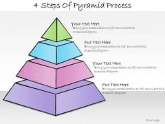 Ppt Slide 4 Steps Of Pyramid Process Sales Plan