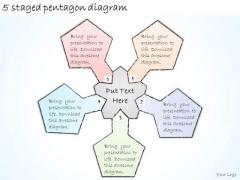 Ppt Slide 5 Staged Pentagon Diagram Strategic Planning