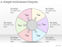 Ppt Slide 6 Staged Achievement Diagram Strategic Planning