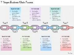 Ppt Slide 7 Stages Business Chain Process Sales Plan