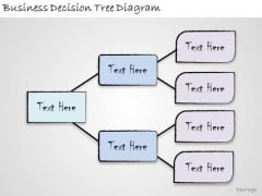 Ppt Slide Business Decision Tree Diagram Strategic Planning