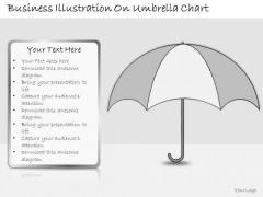 Ppt Slide Business Illustration Umbrella Chart Strategic Planning