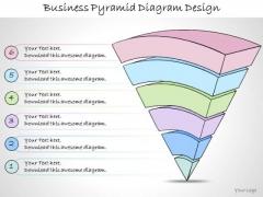 Ppt Slide Business Pyramid Diagram Design Diagrams