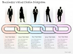 Ppt Slide Business Value Chain Diagram Strategic Planning