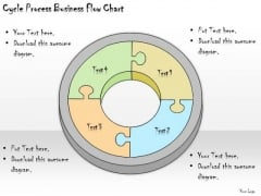 Ppt Slide Cycle Process Business Flow Chart Diagrams
