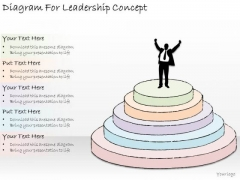 Ppt Slide Diagram For Leadership Concept Strategic Planning