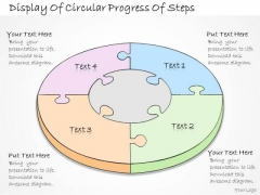 Ppt Slide Display Of Circular Progress Steps Business Plan