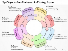 Ppt Slide Eight Stages Business Development And Strategy Diagram Sales Plan