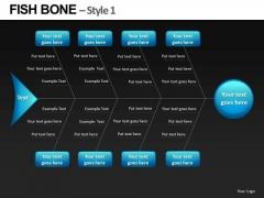 Ppt Slide Fishbone Diagram